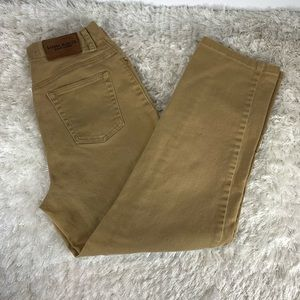 Ralph Lauren Camel Color Jeans Sz 6 Straight Leg
